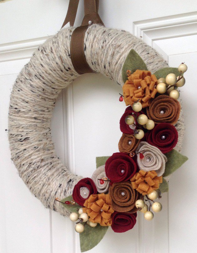 Superbe Attrayant 20 Beautiful Thanksgiving Decoration DIY Ideas To Decorate Your  Home With