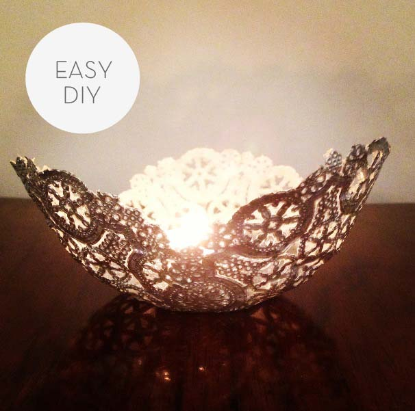 Gorgeous Diy Paper Doily Crafts That Will Take Your Breath Away