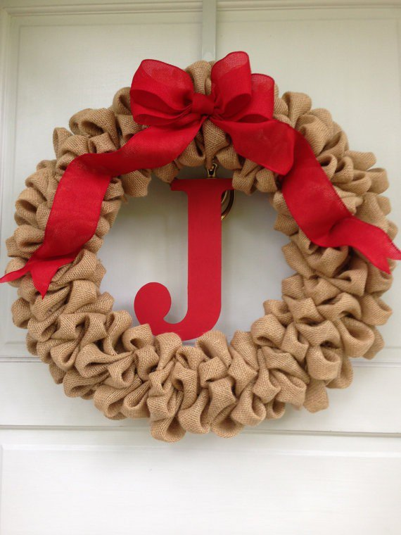 festive diy burlap christmas decorations that will amaze you