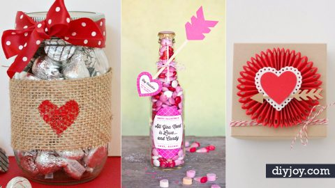 50 Cool DIY Valentine Gifts   DIY Joy Projects and Crafts Ideas