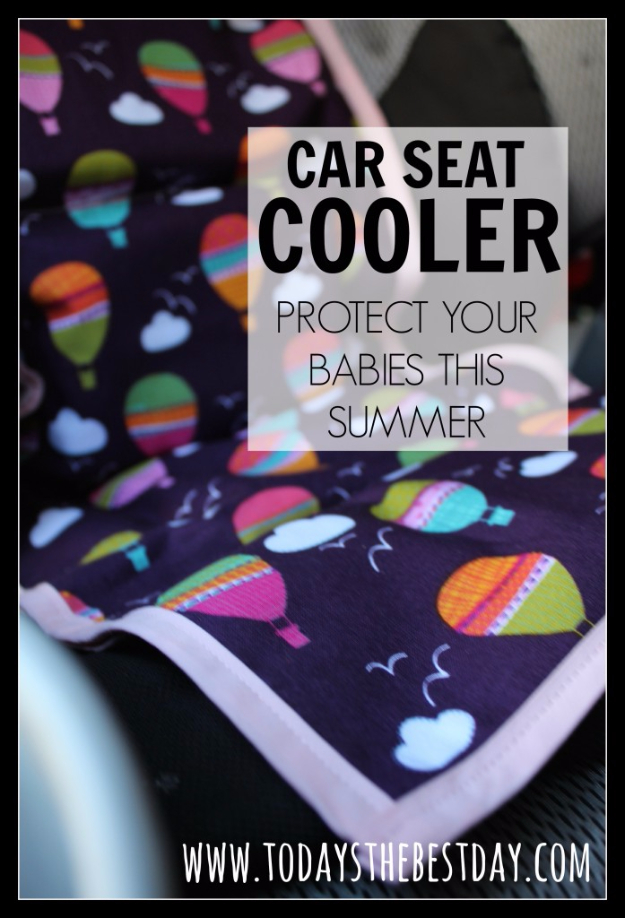 DIY Car Accessories and Ideas for Cars - Car Seat Cooler - Interior and Exterior, Seats, Mirror, Seat Covers, Storage, Carpet and Window Cleaners and Products - Decor, Keys and Iphone and Tablet Holders - DIY Projects and Crafts for Women and Men http://diyjoy.com/diy-ideas-car