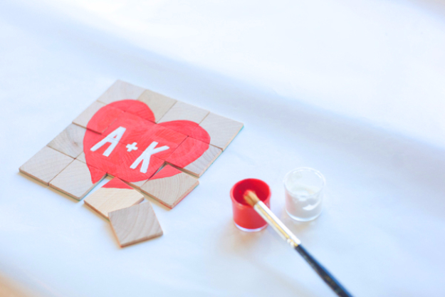 Best DIY Valentines Day Gifts - DIY Secret Message Puzzle - Cute Mason Jar Valentines Day Gifts and Crafts for Him and Her   Boyfriend, Girlfriend, Mom and Dad, Husband or Wife, Friends - Easy DIY Ideas for Valentines Day for Homemade Gift Giving and Room Decor   Creative Home Decor and Craft Projects for Teens, Teenagers, Kids and Adults http://diyjoy.com/diy-valentines-day-gift-ideas