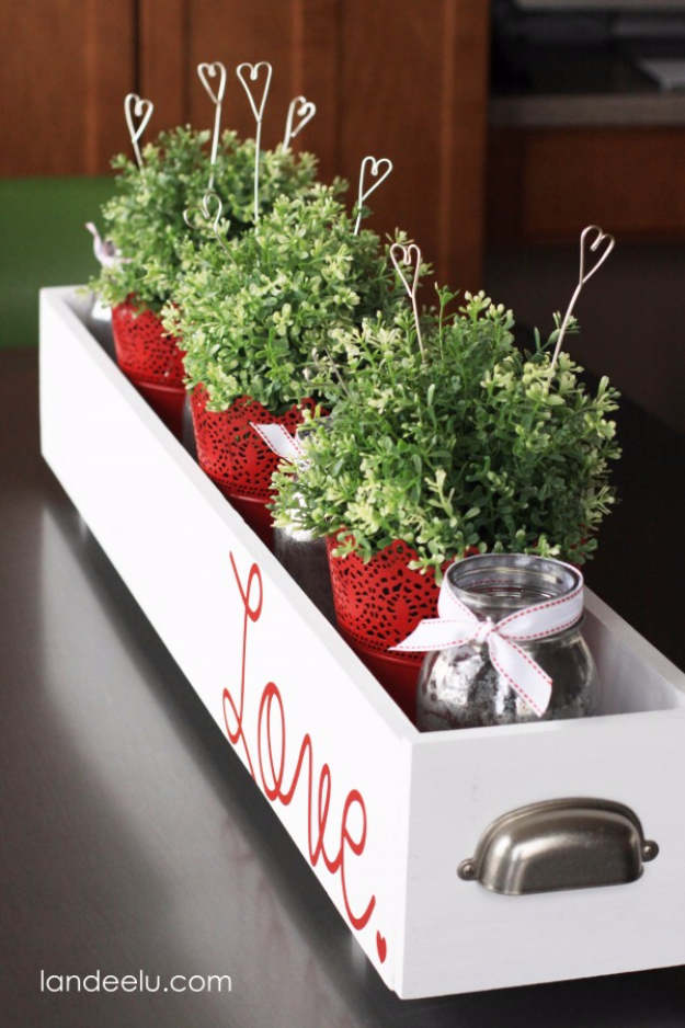 DIY Valentine Decor Ideas - DIY Wire Heart Picks - Cute and Easy Home Decor Projects for Valentines Day Decorating - Best Homemade Valentine Decorations for Home, Tables and Party, Kids and Outdoor - Romantic Vintage Ideas - Cheap Dollar Store and Dollar Tree Crafts http://diyjoy.com/easy-valentine-decorations