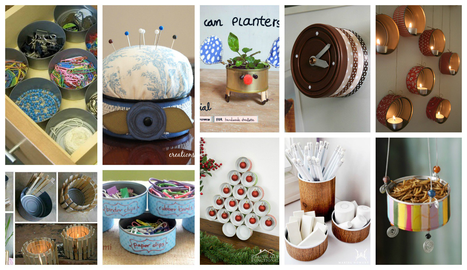 Diy Crafts With Cans