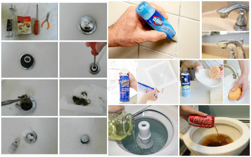 cleaning the bathroom may not be your favorite thing but it is something that we all have to do at least once in a week and when doing this - Bathroom Cleaning Hacks