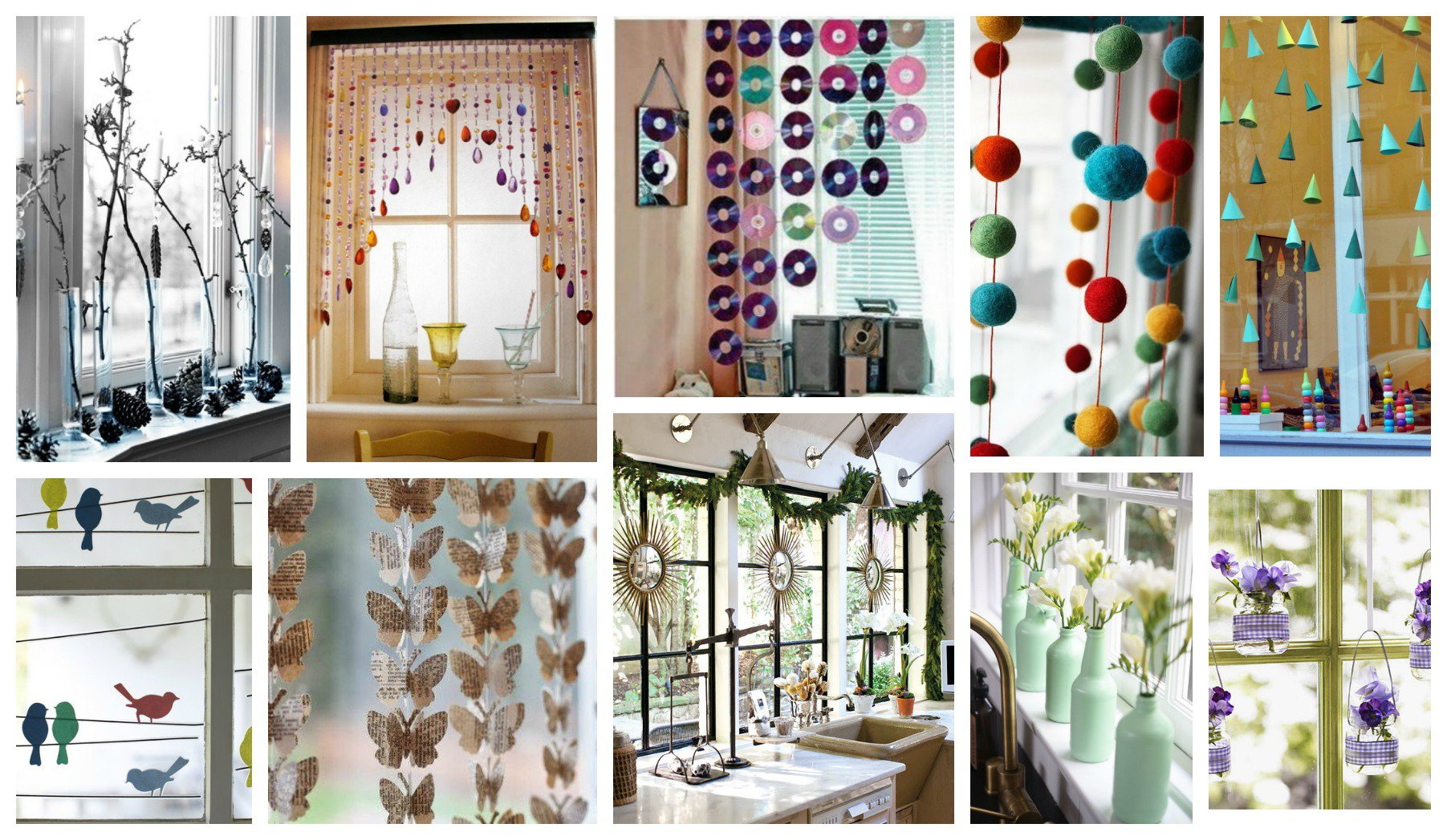 Eye-Catching DIY Window Decorations That Will Amaze You  sc 1 st  DIY arts and crafts : window decoration - pezcame.com