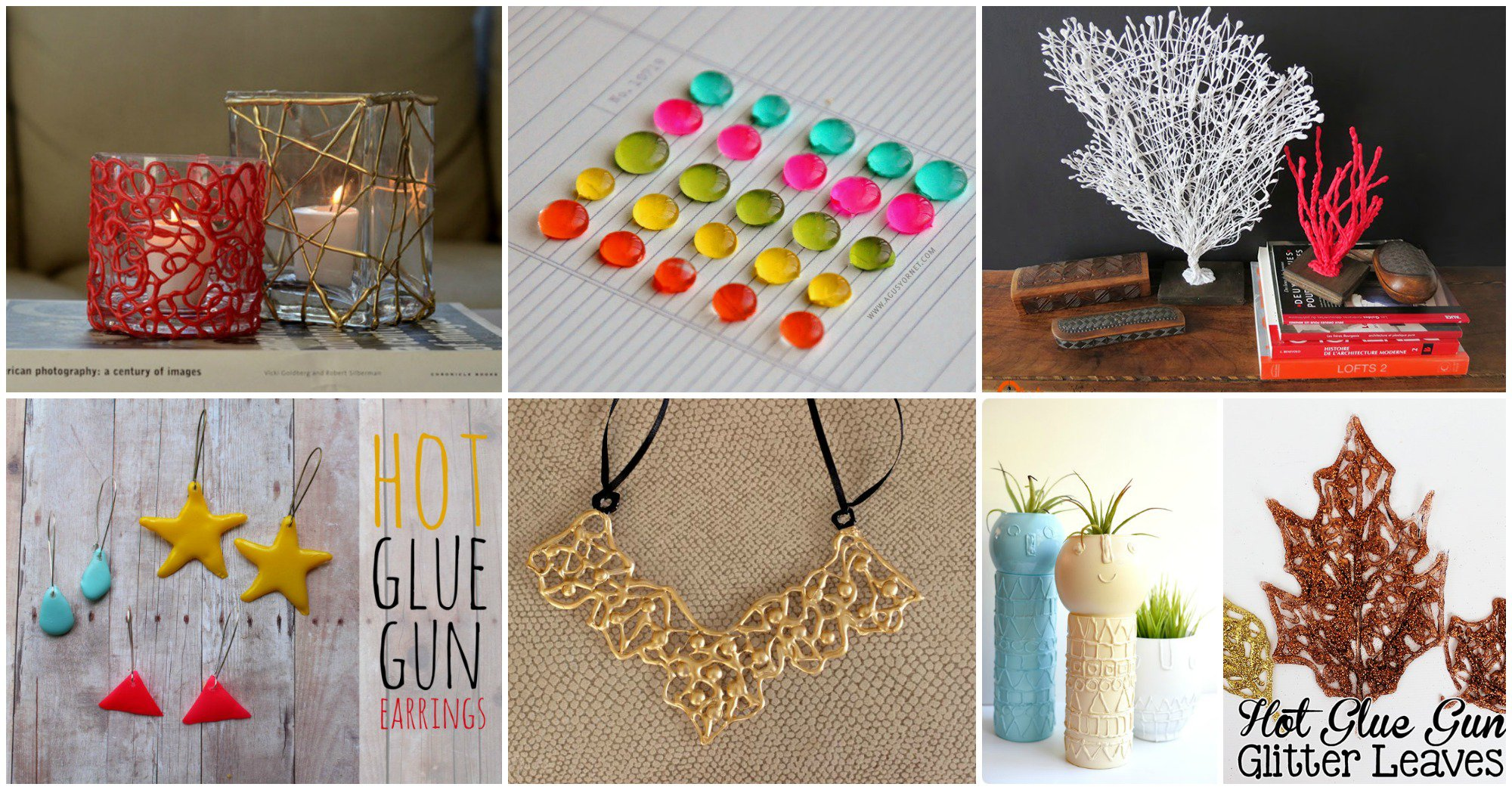 Fascinating diy hot glue gun projects for every craft for Hot glue guns for crafts