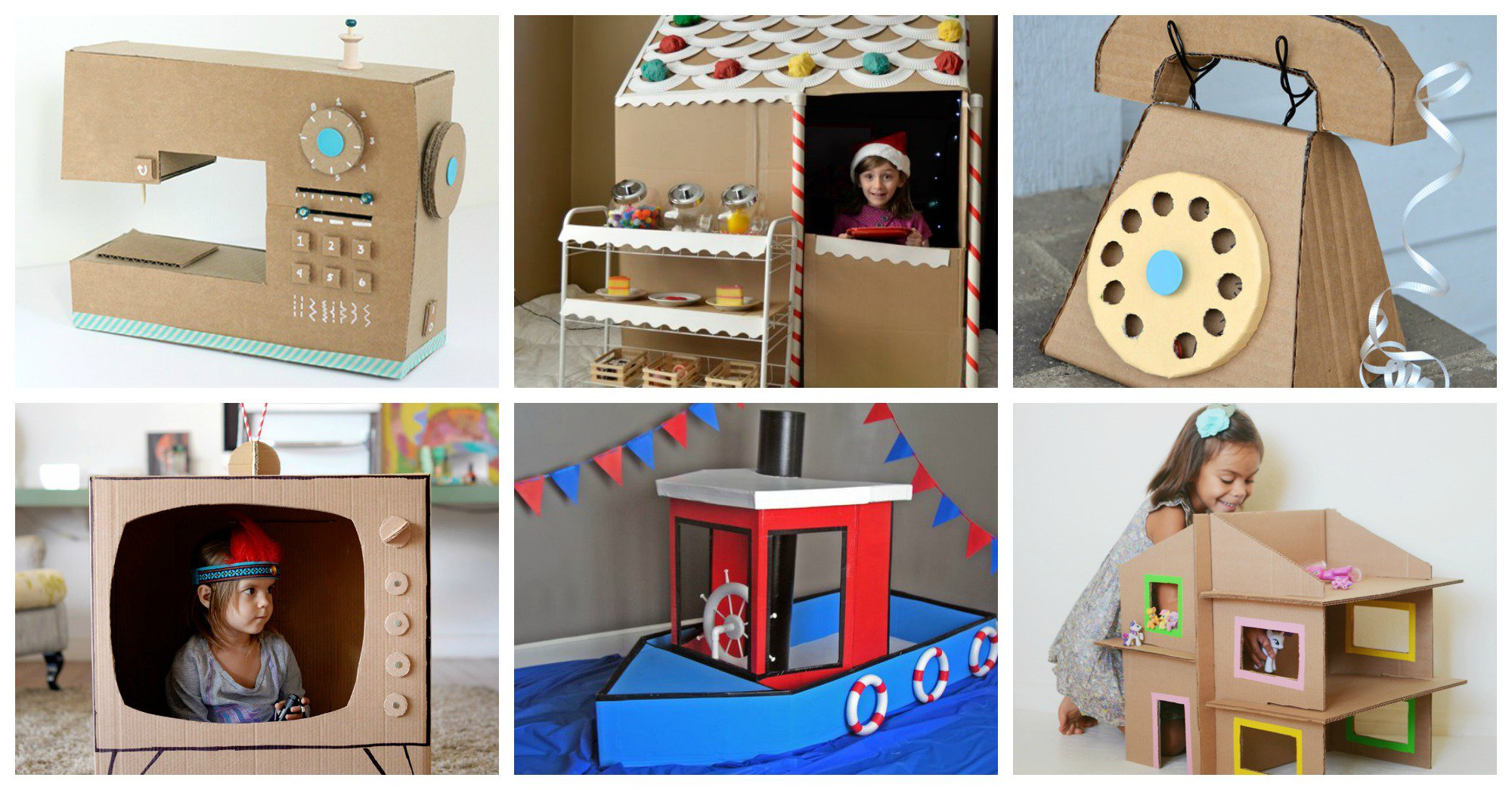 19 Cardboard Box Crafts Your Kids Will Love To Play With Diy Arts