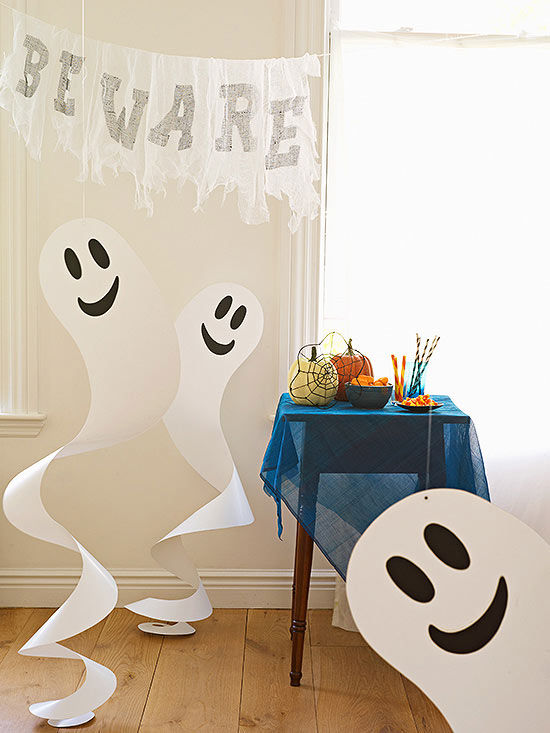 Quick And Easy Halloween Paper Crafts