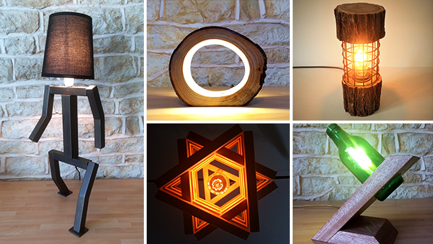 There are plenty of ideas about making your own desk l&s floor l&s wall scones and chandeliers. We have also shown you quite different ways of doing ... & 18 Unbelievably Eccentric Handcrafted Lamp Designs You Can DIY - DIY ...