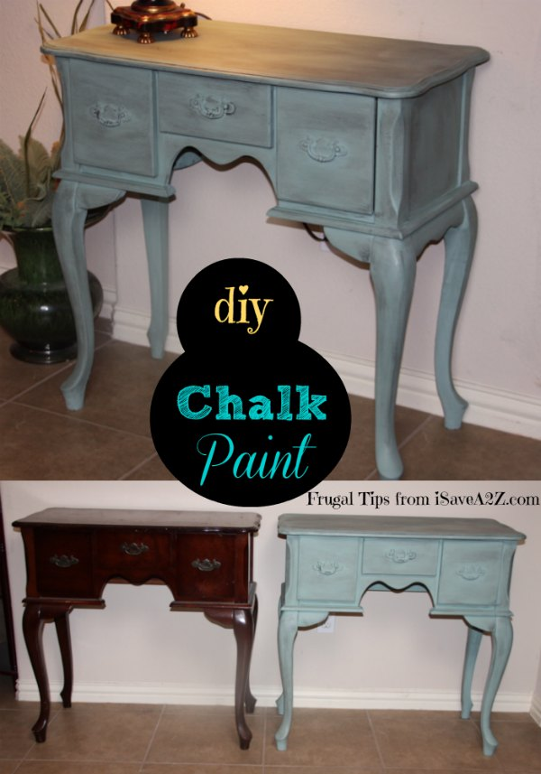 How to make homemade chalk paint