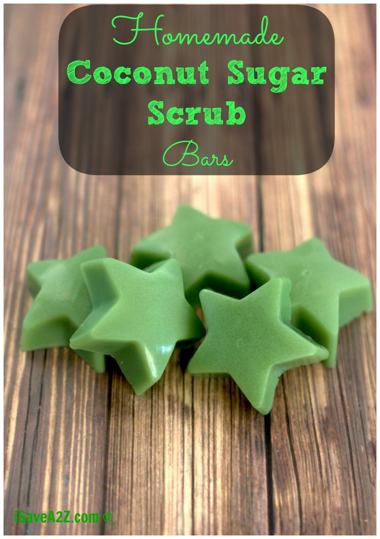 Here some steps to make delicious coconut sugar scrub bars
