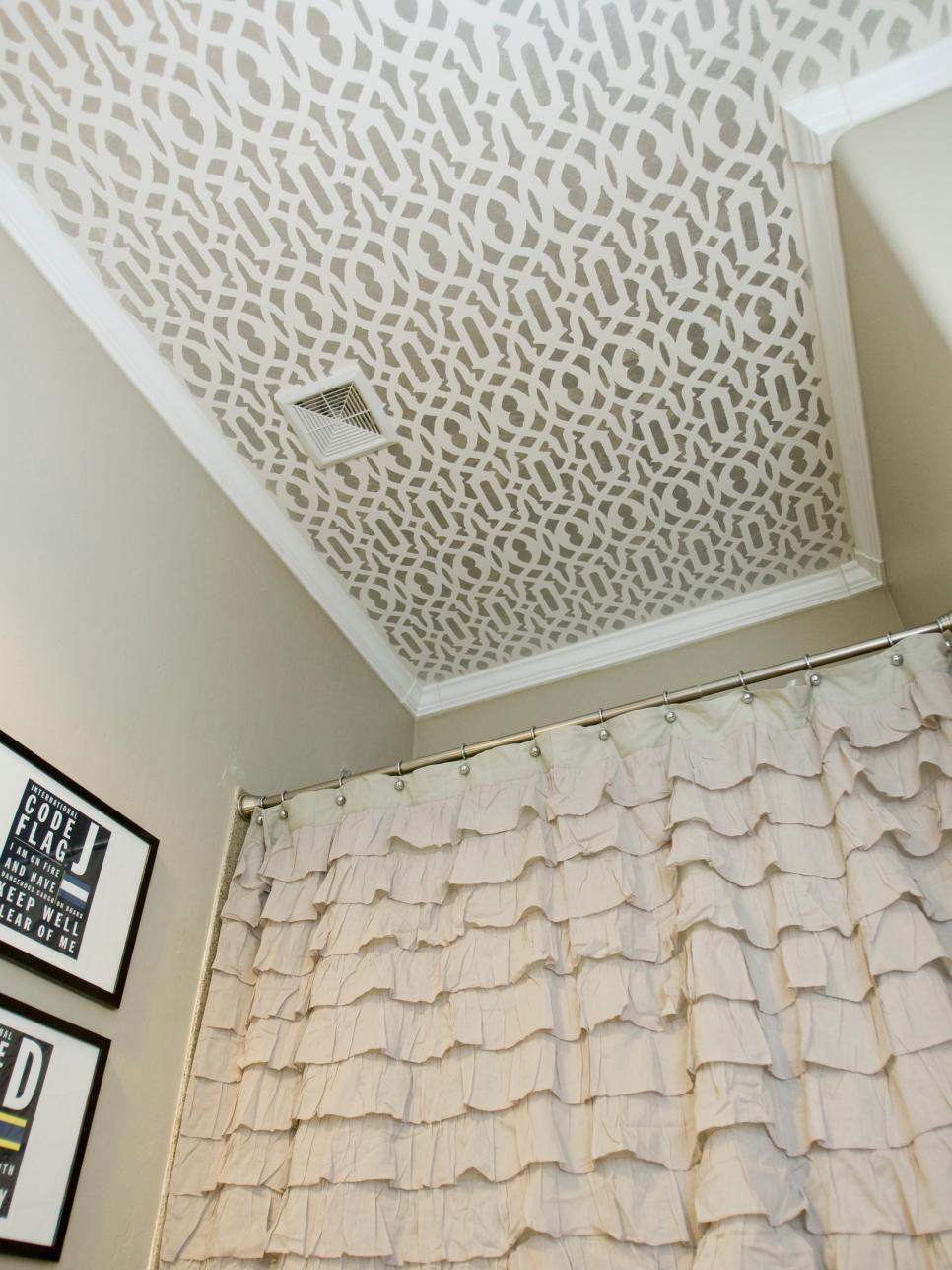 Dress Up the Ceiling