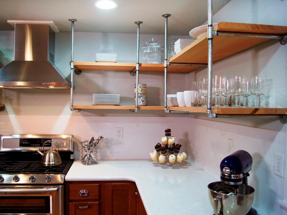 expose the walls - Budget Kitchen Cabinets