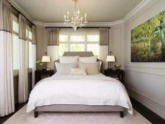 Small master bedroom. - Laura Stein Interiors