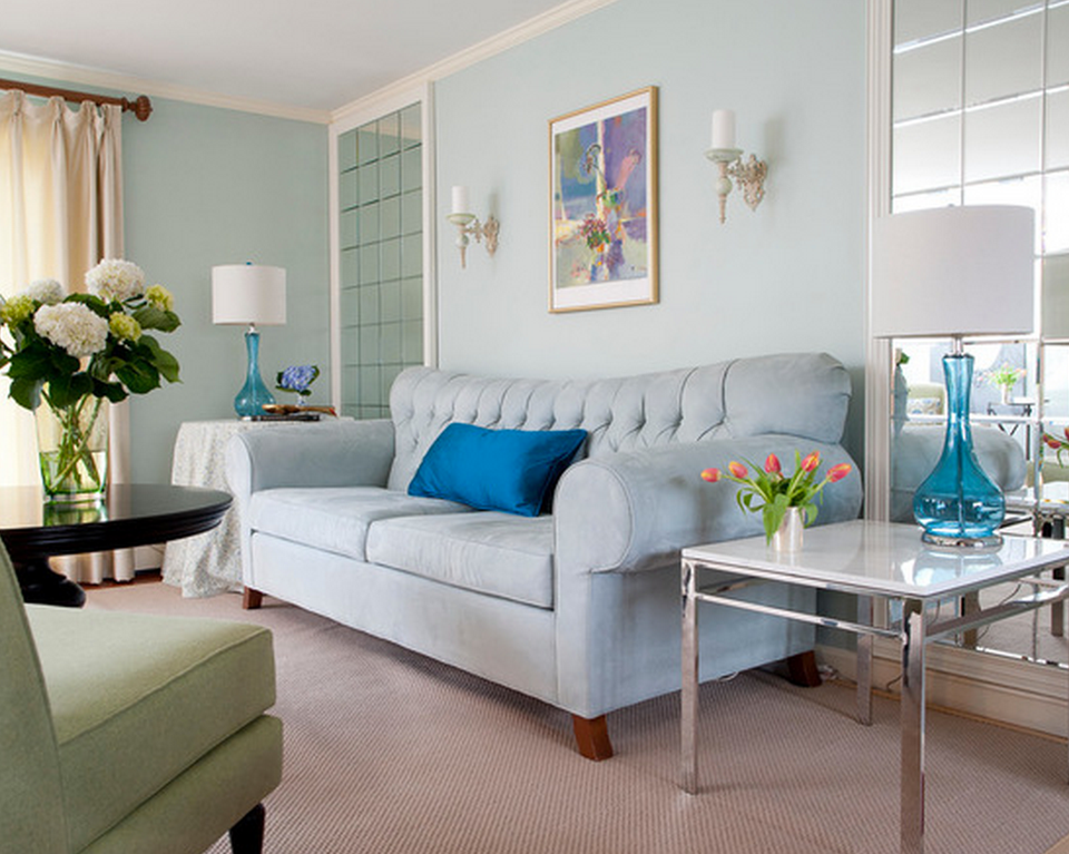 The Best Blue Living Room Ideas for Every Style | DIY arts and crafts