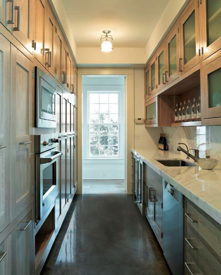Luxury Galley Kitchen How to renovate a