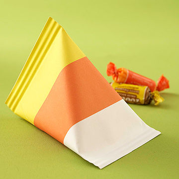 Candy Corn Treat Package