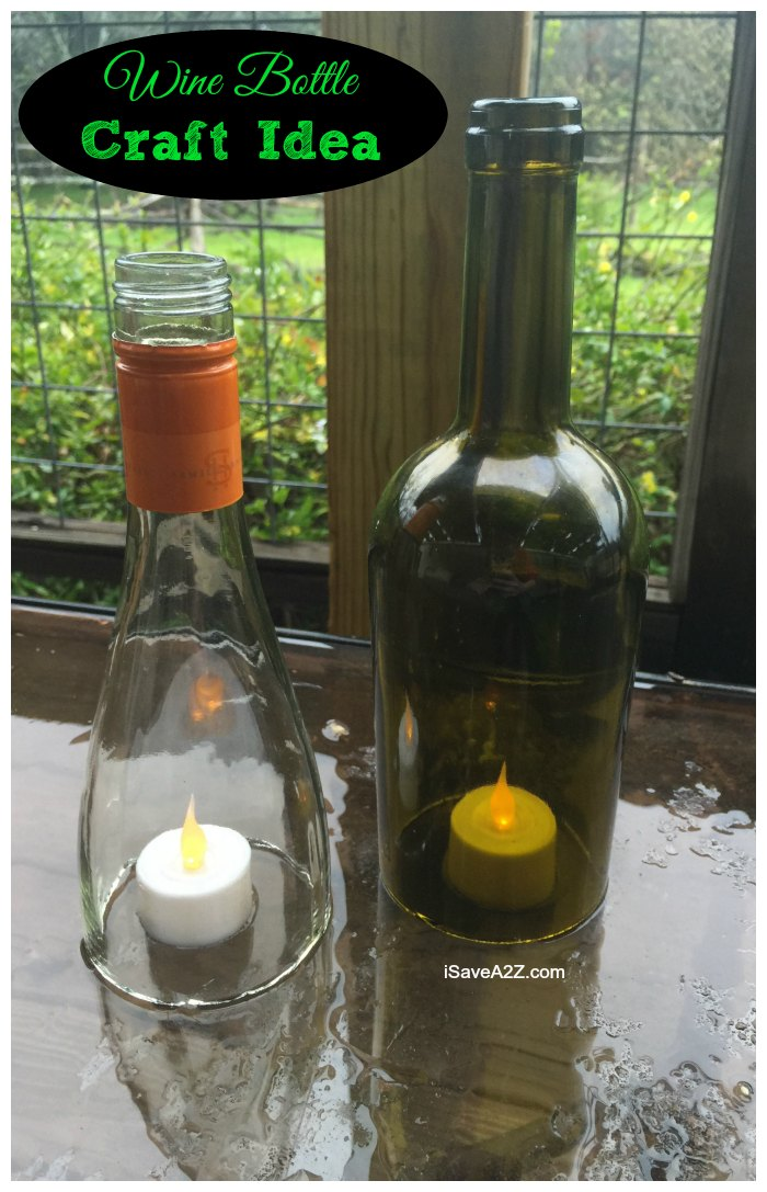 Look at these: I have new ideas with Wine Bottle Craft