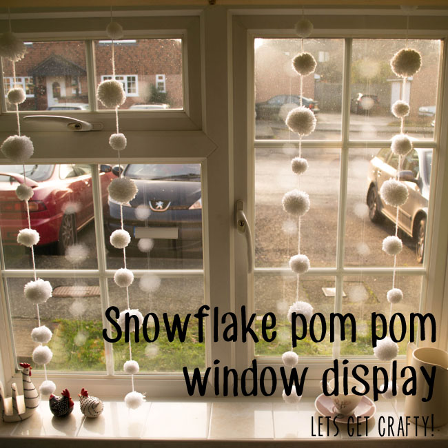 HOW TO MAKE BEAUTIFUL SNOWFLAKE WINDOW DISPLAY