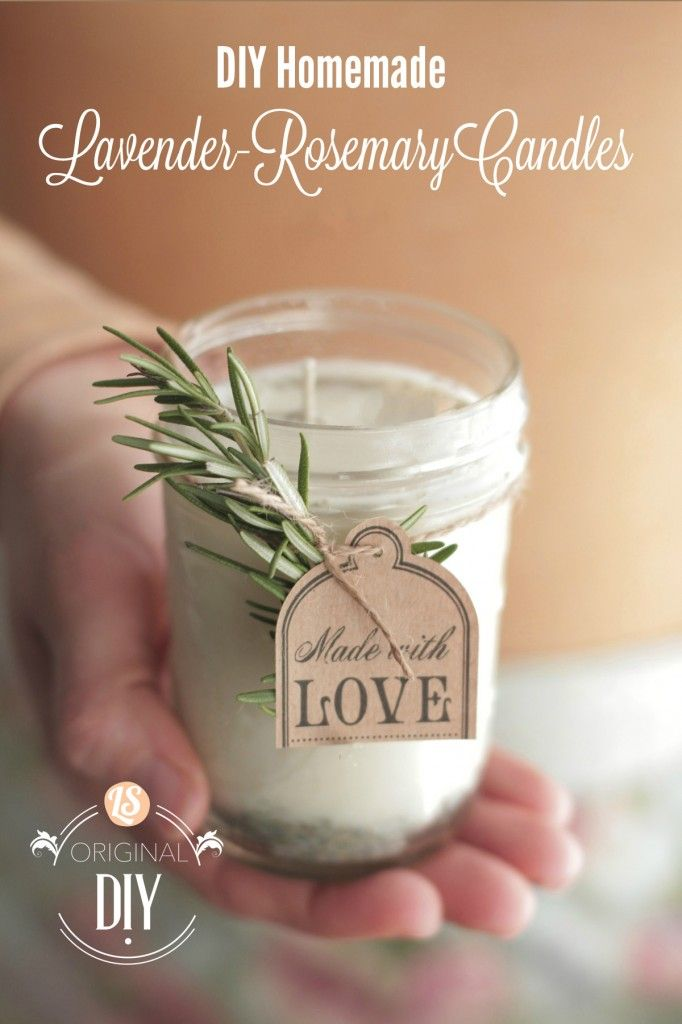 Vibe And Pretty Decorations By homemade candle ideas